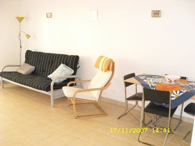 Photo for Lovely apartment In the centre of Antibes, with balcony, aircon, tv and parking.