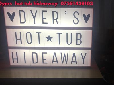Photo for Dyers hot tub hideaway