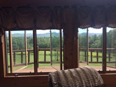 Beautiful Vermont Log Home Ludlow