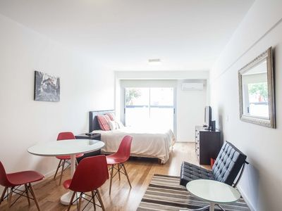 Photo for Studio apartment in Buenos Aires with Air conditioning, Lift, Balcony (494377)