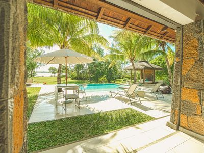 Photo for 5* Luxury Villa with private pool in Trou d Eau Douce