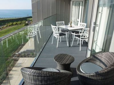 Photo for A stunning first floor apartment within an award-winning development at Porth.