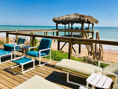 Photo for Direct Oceanfront, Private Beach Home, newly reovated NoDrive, 4Bd/4Bath Oasis