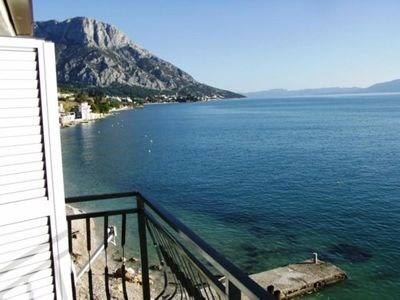 Photo for One bedroom apartment near beach Brist, Makarska (A-15465-b)