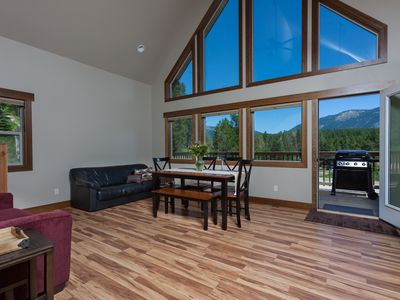Photo for Beautiful Chalet With Mountain Views, Glacier National Park