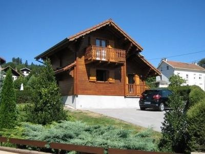 Photo for 3 star awarded chalet, comfortable, at Gerardmer, near the lake and the mountain