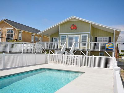 Photo for A Place of Searenity, 7 BR Oceanfront Home with Beautiful Ocean Front Views and a Private Swimming Pool