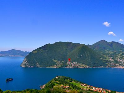 Photo for Stunning views over Lake Iseo and world-famous Monte Isola