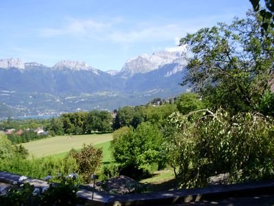 Photo for Grand Chalet View over Lake Annecy and its mountains