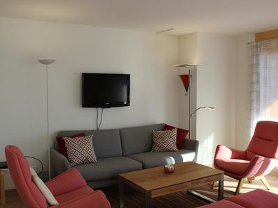 Photo for Domaine du Parc B308 Lovely prestige apartment of 4 ½ pieces (8 people) situated at the first floor