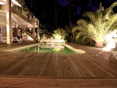 Photo for DOLLY luxury studio with heated pool, terrace, garden.