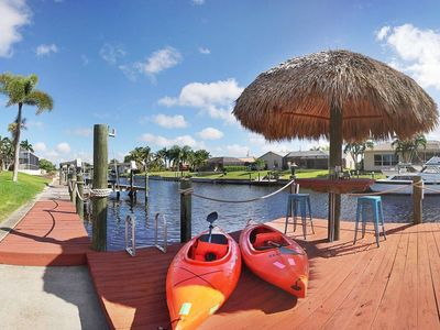 Photo for Ultimate Cape Coral Location,  Gulf and Intercoastal Waterway Access, No Bridges