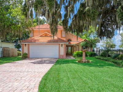 Photo for Beautifully furnished waterfront paradise only minutes from Orlando attractions!