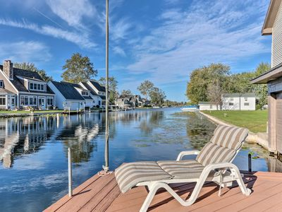 Waterfront Syracuse Home w/Deck, Fire Pit & Kayaks