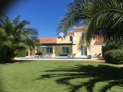 Photo for Luxury Villa, Private Heated Pool, Air-Con, WiFi, Secure Gated Mature Gardens