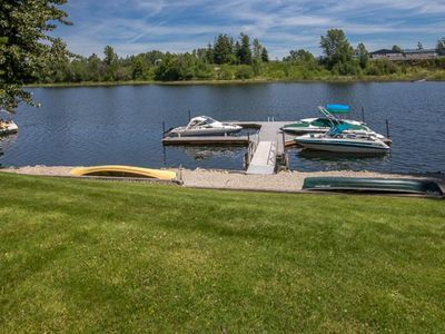 Photo for Waterfront condo - just minutes from downtown Sandpoint w/ a free boat slip!