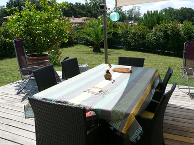 Photo for Modern and warm house near Hossegor