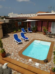 Photo for VILLA CLIMATIZADA POOL, VERY QUIET WITH TWO BEDROOMS, 2 BATHROOMS-LAJARES