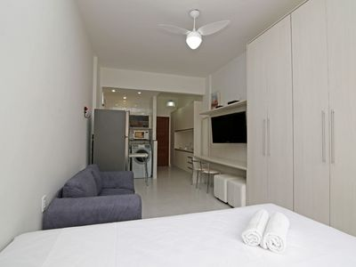 Photo for Rio Rentals 021- C066 Studio with washing machine in Copacabana.
