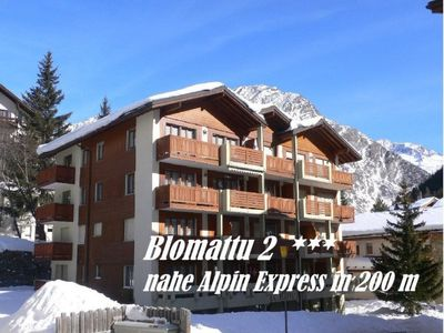 Photo for Apartment Blomattu 2  in Saas - Fee, Valais - 5 persons, 1 bedroom