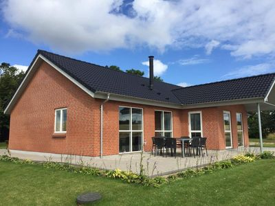 Photo for 164 m2 Lovely holiday house with beautiful view over the Limfjord.