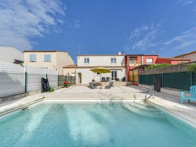 Photo for Vacation home Les Lauriers in Aigues Mortes - 6 persons, 3 bedrooms