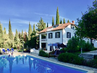 Photo for Gorgeous 1920's Summer House In Cavtat, Balcony  Sea Views & Private Walled Garden With Pool