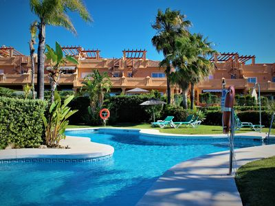 Photo for Townhouse with sea view in Estepona near Marbella