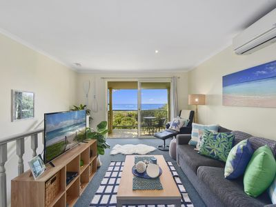 Photo for Waves at Sapphire - 2 Bedroom Spa Apt, ocean views, 5 mins north of Coffs Hbr