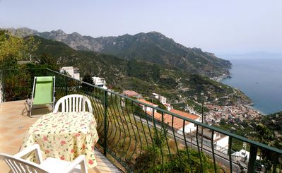 Photo for Nonna Anna in Ravello with terrace & sea view, perfect for families or firends