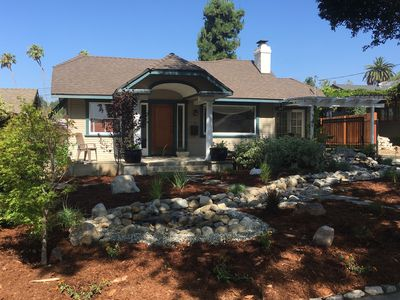 Photo for 3B, 2B Bungalow Heaven Craftsman Family Home near Rose Parade