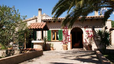 "Photo for Finca ""Es Molina"" with swimming pool, 3 bedrooms, 2 bathrooms, free WiFi"