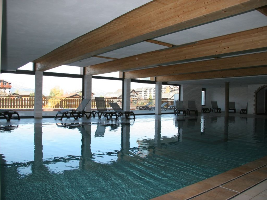 Nendaz apartment rental - Indoor heated swimming pool is accessed by lift