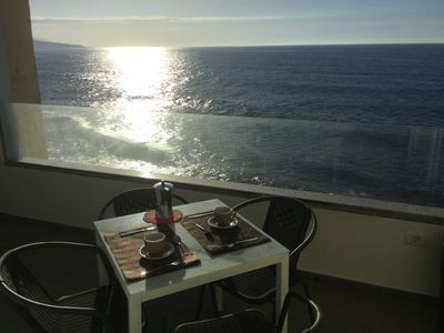 Photo for Beautiful apartment with terrace overlooking the sea and FREE WIFI
