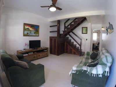 Photo for House 120m2, 4 bedrooms, 3 bathrooms, 300m from the beach (w / up to 10 people)