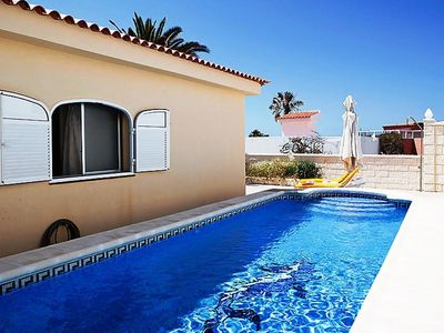 Photo for This 2-bedroom villa for up to 4 guests is located in Callao Salvaje and has a private swimming pool
