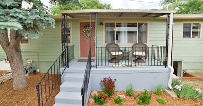 Photo for Charming and Cozy- Hidden Haven, close to downtown springs, peaceful and relaxing get-away