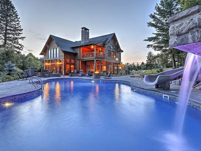 Photo for Luxury Lake Placid Home w/ Pool & Mountain Views!