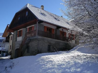 Photo for Chalet Savoiage, Ski In - Ski Out, 13pers, family character