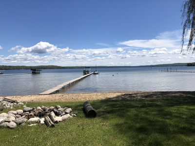 Photo for Cottage on Beautiful Platte Lake JULY 6-13 OPEN at 20% OFF!