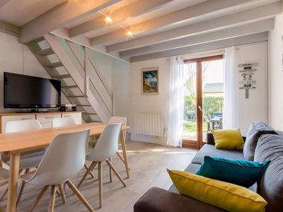 Photo for La Baule, house in residence with pool, close beach Benoit