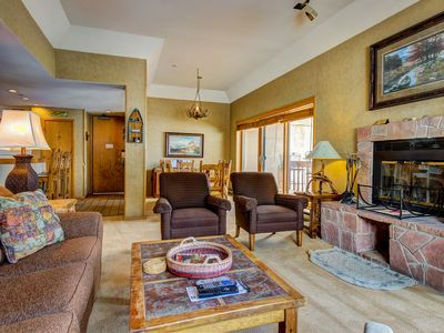 Photo for Skier's dream w/ski-in/out access, hot tub, pool, & more!