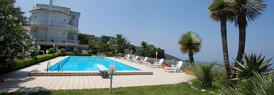 Photo for One bedroom Villa, sleeps 4 in Torca with Pool and Air Con