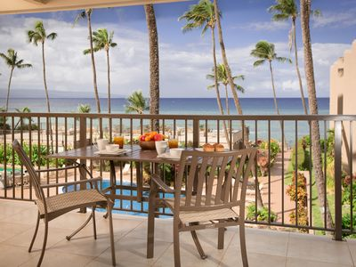 Photo for Luxury OCEANVIEW Condo, Beautiful Renovated One Bedroom w pool West Maui