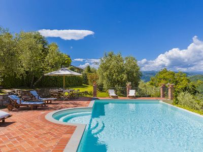 Photo for 7 bedroom Villa, sleeps 15 in Grotta Giusti with Pool, Air Con and WiFi