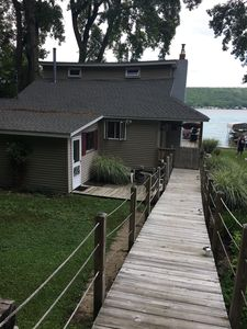 Photo for Quiet retreat on Conesus Lake, Private Beach!