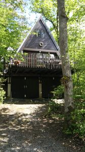 Photo for Chalet No. 127 in a quiet location in a wooded area