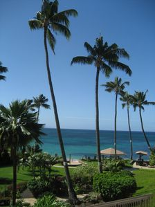 Enjoy the view from our lanai!