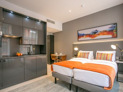 Photo for Grafton Street - Superb Superior Studio Apartment - Newly renovated - sleeps 3