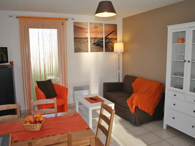 Photo for Duplex housing in St Pabu 800 m from the beaches with enclosed garden.